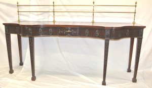 An Irish Regency serving table (2,500-4,500).