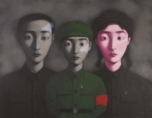 Zhang Xiaogang's Bloodline: Big Family No. 3 sold for a world record price of $12.1 million US.