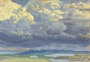 Nicholas Roerich (1874-1947) The Heavenly Battle painted in 1909 (£500,000-700,000).