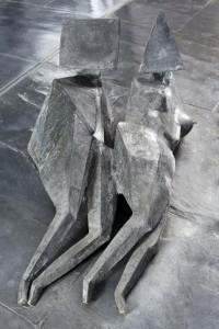 'Two Reclining Figures' by Lynn Chadwick