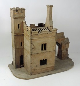 A scale model by architect Benjamin Woodward of Dromore Castle gate lodge, Co. Kerry (3,000-4,000)