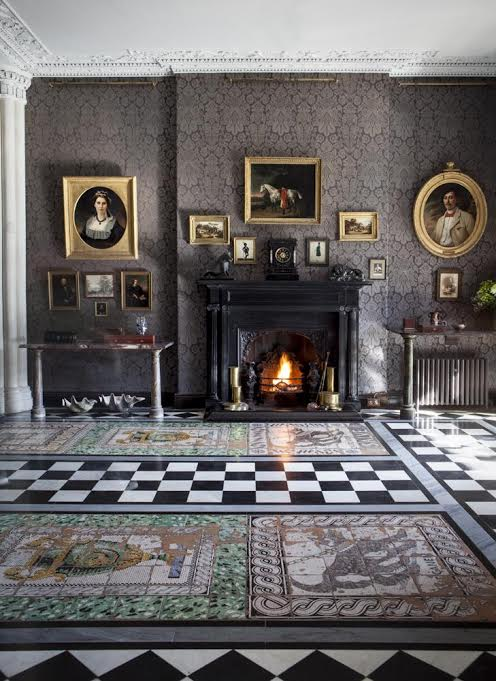 Gobelins Tapestries And Russian Icons At Bantry House