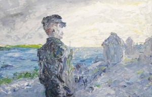 Jack Butler Yeats - The Western Ocean (£60,000-80,000).  Courtesy Christie's Images Ltd., 2014.