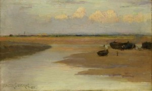 Low Tide by Walter Osborne (1859-1903) (10,000-15,000).