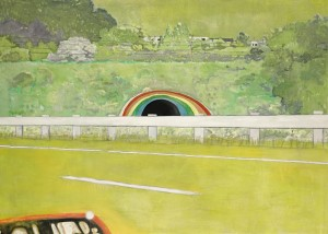 Peter Doig - Country-rock (rear window).