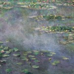 CLAUDE MONET (1840-1926) - NYMPHÉAS dated 1906.