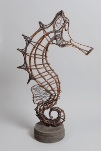 Sea Horse by Helen Walsh (unique) (1,000-1,500).