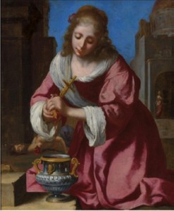 Vermeer - Saint Praxedis - © Christie's Images Limited 2014