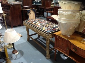 This specimen table was the top lot at the Ashford Castle sale. It made 5,000.
