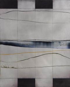 This oil on aluminium by Charles Tyrrell will be sold in aid of the West Cork Arts Centre building fund (3,000-4,000).