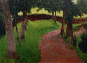 Roderic O'Conor (1860-1940) - Paysage Breton.