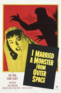 I MARRIED A MONSTER FROM OUTER SPACE Reynold Brown (1917-1991) 1958, Paramount, U.S.