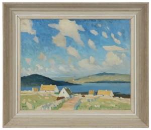 Charles Lamb, RHA RUA (1893-1964) - Carraroe, Connemara.
