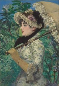 Edouard Manet - Le Printemps