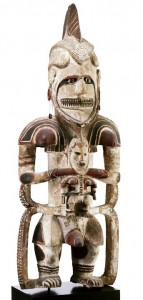 Ancestor figure, uli Northern New Ireland SOLD: 1,609,500€