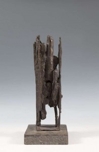 Edward Delaney RHA (1930-2009) Abstract Standing Form Bronze on a stone plinth (1,000-1,500)