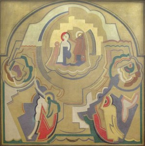 Mainie Jellett (1897-1944) Homage to Fra Angelico (1928) (40,000-60,000).