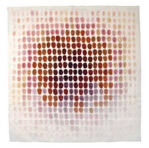 Louis le Brocquy HRHA (1916-2012) Cúchulainn Blanc et Rose (1973) Tabard Frères et Soeurs Aubusson tapestry (40,000-60,000).