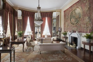 The drawing room at Bantry House.