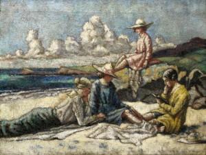 Mainie Jellett (1897-1944) - Peace (20,000-30,000).