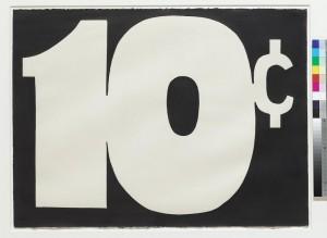 ROY LICHTENSTEIN (1923-1997) 10 ¢ ($800,000-1.2 million)
