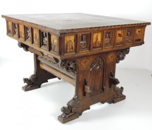 This table, attributed to Pugin, is at Fonsie Mealy's on October 7.