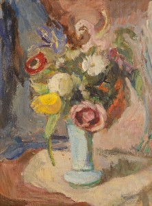 Roderic O'Conor (1860-1940) - Still Life with Flowers (12,000-18,000).