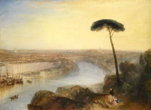 J.M.W. Turner (1775-1851) - Rome from Mount Aventine (£15-20 million)