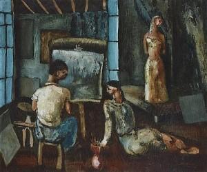 Daniel O'Neill - Studio Interior (30,000-40,000).