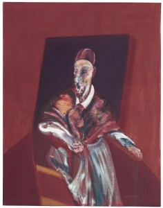 Francis Bacon (1909-1992) Seated Figure (Red Cardinal)