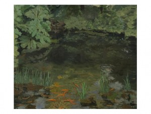Sir Winston Spencer Churchill The Goldfish Pool at Chartwell, 1932 Oil on canvas, 25 by 30in. est. £400,000-600,000 Copyright © Churchill Heritage Ltd