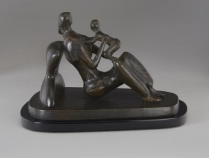 Henry Moore, Maquette for Mother and Child: Arms, 1976  © The Henry Moore Foundation.