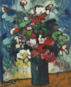 MAURICE DE VLAMINCK, Bouquet de fleurs (1905-06), $700,000 – 1,000,00, Courtesy Christies Images Ltd., 2014