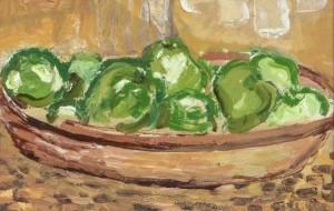 Camille Souter HRHA (b 1929) - End of Summer Apples (8,000-12,000)
