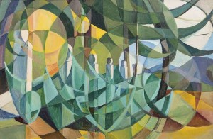 Mary Swanzy HRHA (1882-1978) Cubist Landscape (10,000-15,000)