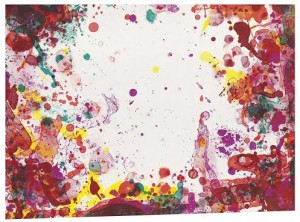 Sam Francis - Yunan State IV, 1971 courtesy Christie's  Images Ltd., 2014