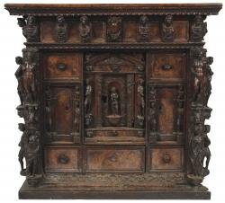 A late 16th/early 17th century Italian cabinet.