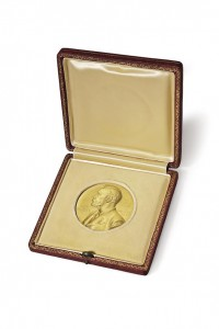 The Nobel Medal © Christie's Images Limited 2014