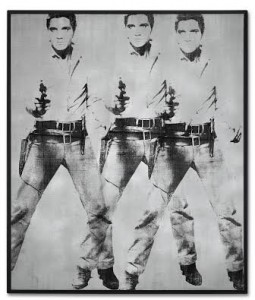 Andy Warhol (1928-1987) Triple Elvis