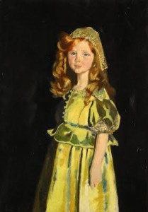 Portrait of Vivien St. George by Sir William Orpen (£60,000-80,000)