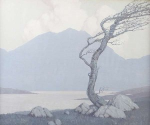 Paul Henry - Early Morning in Donegal.