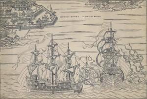 A woodblock print of Muyder Poort c1772-80 (starting at £8,000).