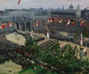 Sir John Lavery - Admiralty Arch, 19th July 1919