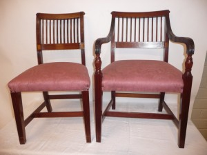 This set of Cork 11-bar chairs sold for 3,600.