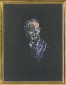 Francis Bacon - Study for a Head .Courtesy, Christie's Images Ltd., 2015.