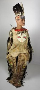 The late 19th century Native American outfit.