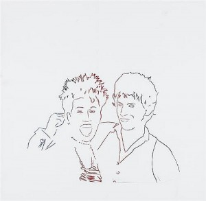 ANDY WARHOL - ARETHA FRANKLIN AND KEITH RICHARDS c1986 screenprint (2,000-3,000).