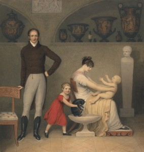 Adam Buck. The Artist and his Family, 1813. Yale Center for British Art, Paul Mellon Collection.