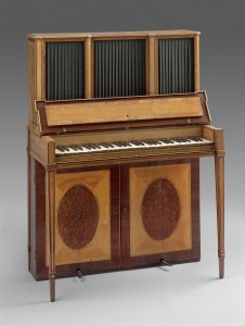Robert Woffington (movement). William Moore (probably, casework). Upright Piano, c. 1790. Museum of Fine Arts, Boston, Gift of the New England Conservatory of Music.