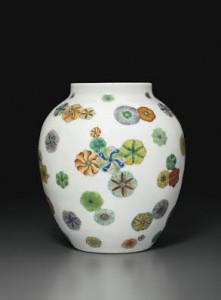 A rare Doucai ovoid jar China Yongzheng-Qianlong period ($5,000-8,000) Courtesy Christie's Images Ltd., 2015.